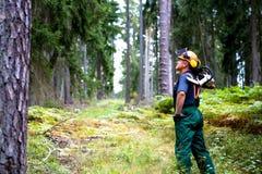 Lumberjack Obraz Stock