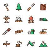 lumberjack Immagini Stock