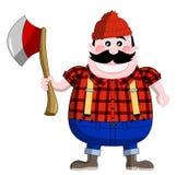 lumberjack Fotografering för Bildbyråer