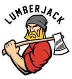 Lumberjack иллюстрация штока