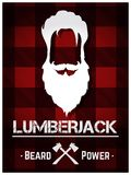lumberjack Arkivfoto