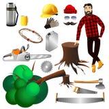 lumberjack Imagem de Stock Royalty Free