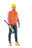 Lumberjack with an axe Royalty Free Stock Photography