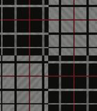 Lumberjack Black white and red woven textile Plaid  graphic pattern Royalty Free Stock Images