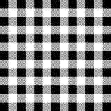 Lumberjack Buffalo Plaid Seamless Pattern. White and Black Lumberjack vector illustration