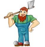 Lumberjack cartoon isolated Stock Photo