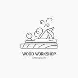 Lumberjack Logo Stock Image