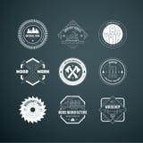 Lumberjack Logos Stock Photo