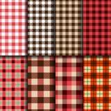 Lumberjack patterns Royalty Free Stock Photography