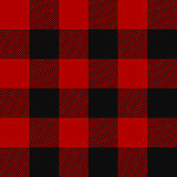 Lumberjack plaid pattern Stock Images