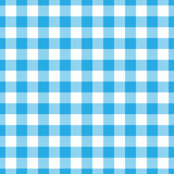 Lumberjack plaid pattern in blue and black. Seamless vector pattern. Simple vintage textile design Royalty Free Stock Photo