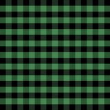 Lumberjack plaid. Scottish cage background. Lumberjack plaid. Scottish pattern in green and black cage. Scottish cage. Scottish checkered background in classic royalty free illustration
