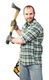 Lumberjack portrait Royalty Free Stock Photos