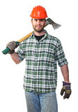 Lumberjack portrait Royalty Free Stock Images