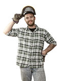 Lumberjack portrait Stock Photo