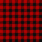 Lumberjack seamless plaid pattern Royalty Free Stock Image