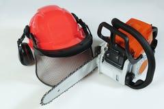 Lumberjacks equipment Stock Photo