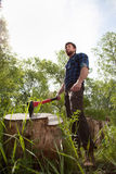 lumberman Стоковая Фотография