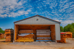 Lumbermill in Ontario, Canada Stock Photos