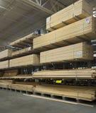 Lumberyard Стоковые Фотографии RF