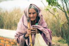 Lumbini Nepal Royaltyfria Bilder