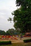 Lumbini Vana est patrimoine culturel du monde Images libres de droits