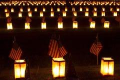 Lumbrera de Gettysburg observada Fotos de archivo libres de regalías