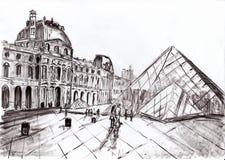 Lumbrera de París del drenaje de la mano fotos de archivo