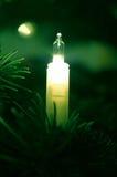 Lume di candela elettronico Immagini Stock Libere da Diritti