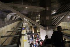 Lumière à la fin du tunnel Image stock