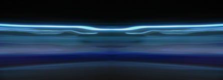 Lumière à vitesse réduite de bleu de volet Image libre de droits