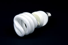 Lumière économiseuse d'énergie Photo libre de droits