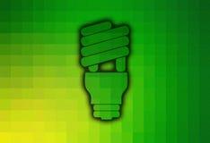 Lumière économiseuse d'énergie Photographie stock libre de droits