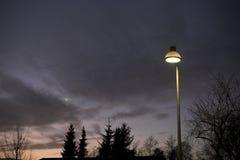Lumière électrique Photo stock