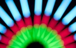 Lumière électrique de tache floue Photos libres de droits