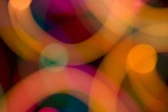 Lumière abstraite de couleur Photo libre de droits