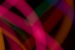 Lumière abstraite de couleur Photos libres de droits