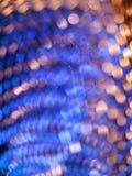 Lumière abstraite de microphone Images stock
