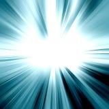 Lumière abstraite de rayon Photo libre de droits