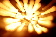 lumière abstraite de tache floue Photos stock