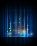 Lumière abstraite, rayons de fond de lumière Photographie stock libre de droits