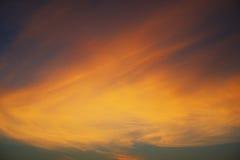 Lumière après le coucher du soleil Image stock