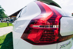 Lumière 2018 arrière de nouvelle voiture de Volvo XC60 Photographie stock