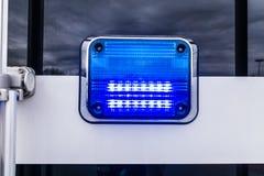 Lumière bleue Photo libre de droits