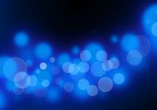 Lumière bleue abstraite Image stock