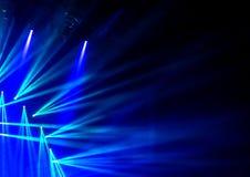 Lumière bleue d'étape image libre de droits