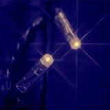 Lumière bleue de pièce Image libre de droits