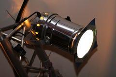 Lumière brillante de projecteur de théâtre Photos stock