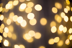 Lumière brouillée, effet de bokeh Images stock
