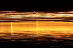 Lumière brouillée par mouvement Image stock